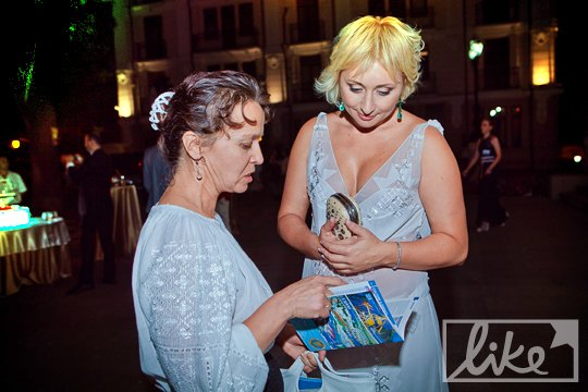 Президент ОМКФ Виктория Тигипко общалась со всеми желающими