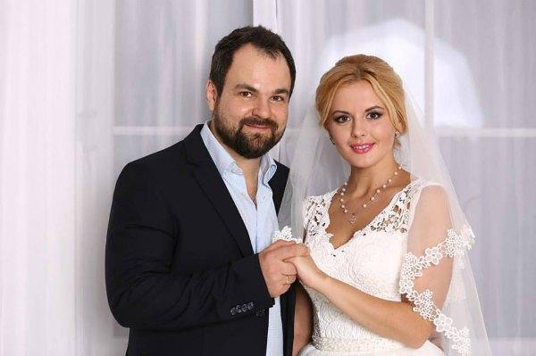 Эдуард Приступа с женой Яной
