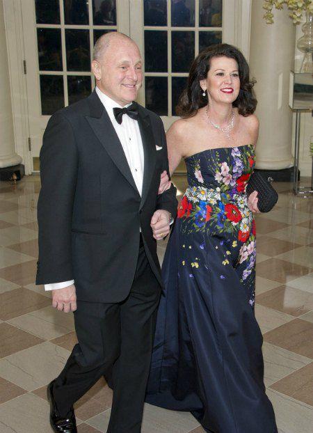 Посол США в Канаде с супругой