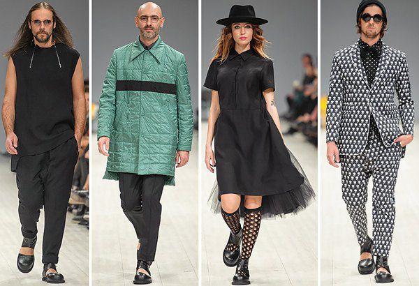 Виктор Анисимов показал яркую мужскую моду