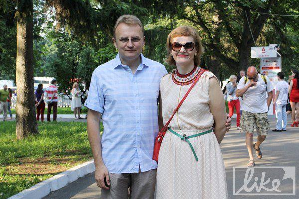 Мэр Львова Андрей Садовой с женой посетили все дни фестиваля
