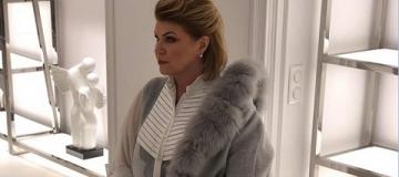Жену экс-премьера ограбили после съемок для модного журнала