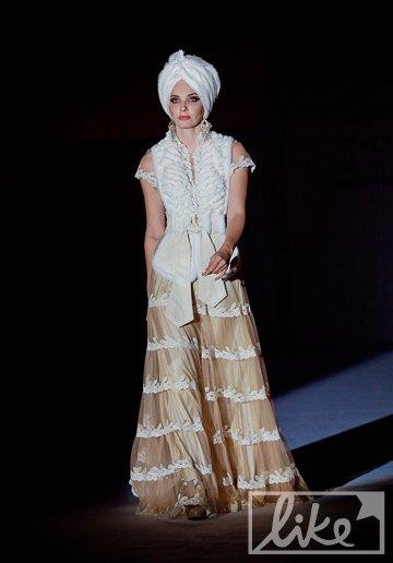 Финальное платье коллекции