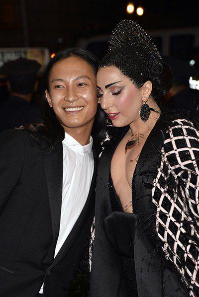 Леди Гага и Александр Ванг