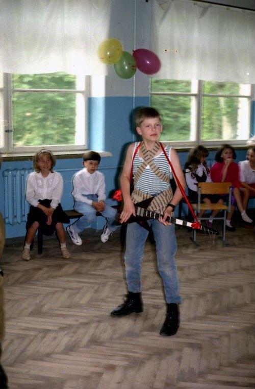 не спортом единым жил школьник Исаенко