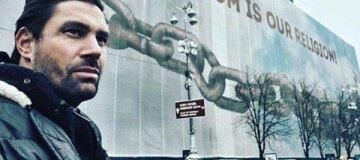 """В Киев приехал звезда сериала """"Спартак: кровь и песок"""""""