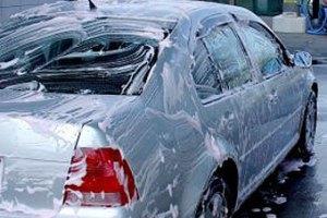 Пьяные канадцы приняли душ на автомойке