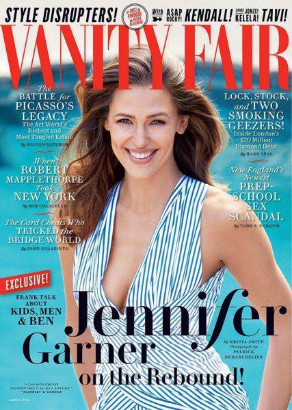 Дженнифер Гарнер на обложке Vanity Fair
