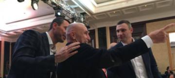 Кличко-младший отметил день рождения с украинскими олигархами и вип-спортсменами