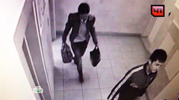 Грабители попали в объектив камеры видеонаблюдения