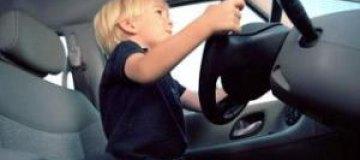 В Швеции четырехлетний мальчик угнал машину