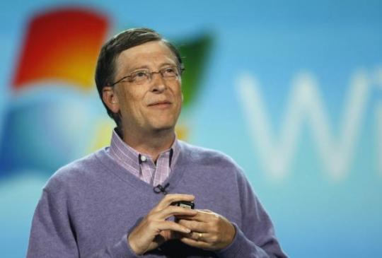 Билл Гейтс оказался на третьем месте списка