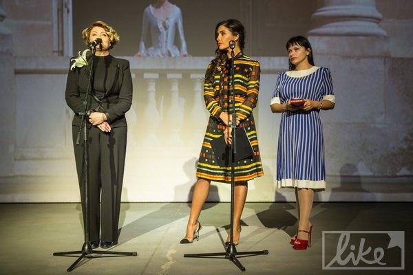Учредитель UFW Ирина Данилевская и владелицы бутика Gold Vintage Санта Димопулос и Юлия Ковалева