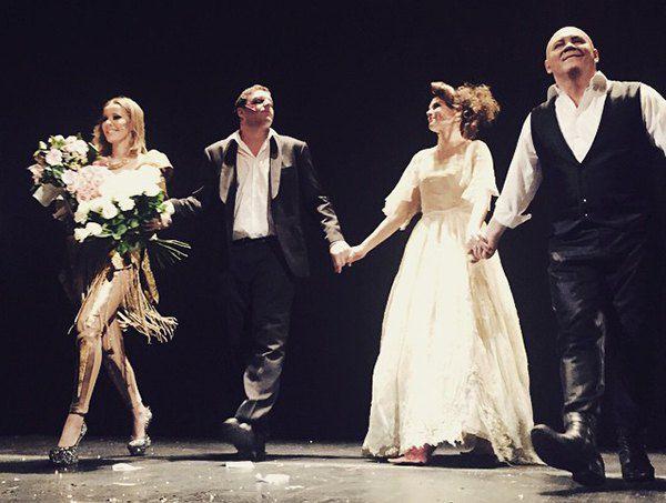 Ксения Собчак сыграла в спектакле Женитьба