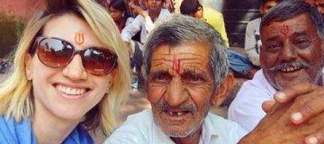 Анита Луценко оставила мужа и ребенка, чтобы просветляться в Индии