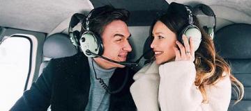 Тодоренко с Топаловым покатались на вертолете