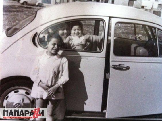 """Арфуш:""""Я с мамой и сестрой в нашем любимом семейном авто - """"Жуке"""""""""""