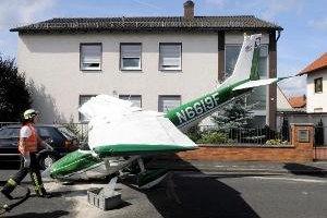 Пилот посадил самолет в центре жилого квартала