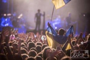 "На концерте ""Океана Ельзи"" в Минске ОМОН отбирал украинскую символику"