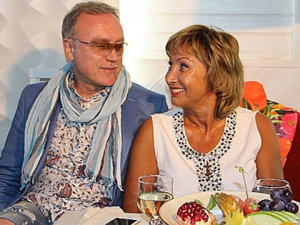 Лариса Копенкина с возлюбленным Игорем