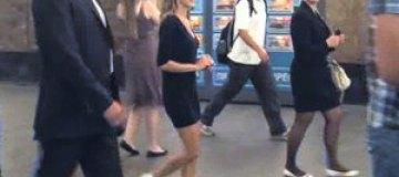 Сара Джессика Паркер покаталась в московском метро