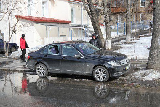 Автомобиль Анюты Славской