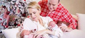 Принц Монако показал свою новорожденную двойню