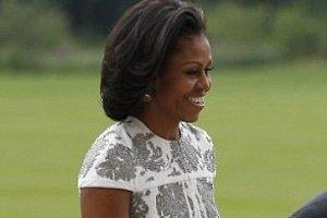 Мишель Обама делает зарядку в пять утра