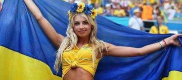 Сексапильная украинская болельщица покорила соцсети