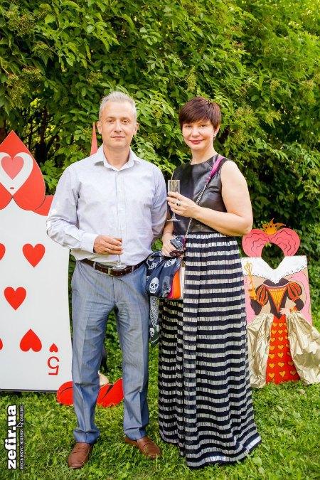Елена Бондаренко с мужем Андреем Бондаренко, который был замом разных министров в правительстве Азарова