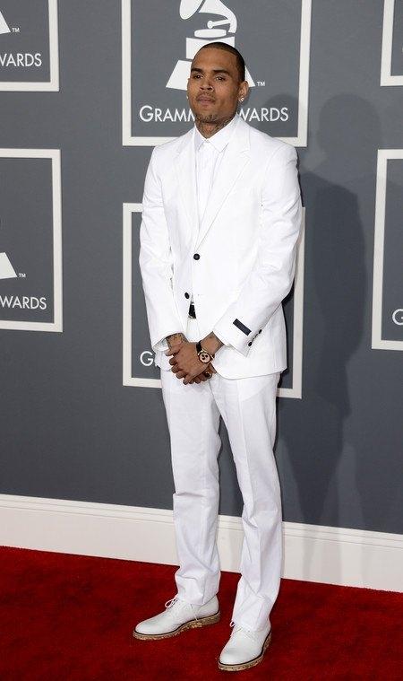 Американский певец и актер Крис Браун