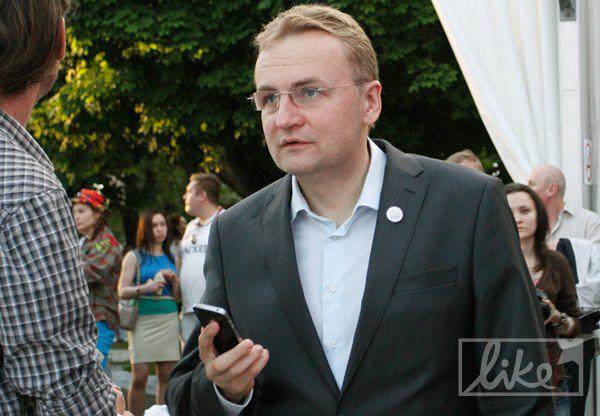 Мэр города Львов Андрей Садовой