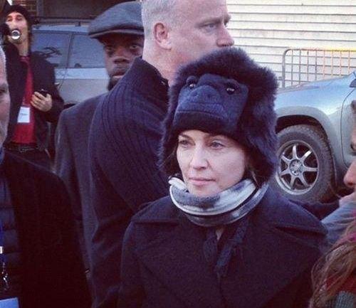 Мадонна в Нью-Йорке