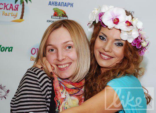 Наталья Окунская и Кристина Маковий