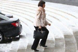 Ирина Акимова носит сумку Dior за $3,4 тыс.