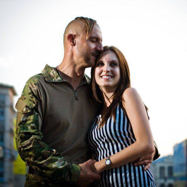Козак Гаврилюк с женой Яриной