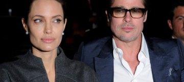 Анджелину Джоли и Брэда Питта впервые за два года сфотографировали вместе