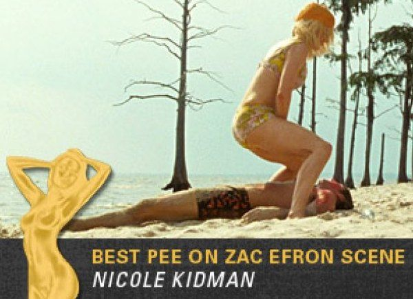 Николь Кидман помочилась в кадре на коллегу