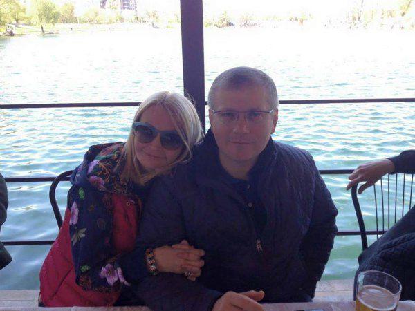 Светлана Епифанцева и Александр Вилкул