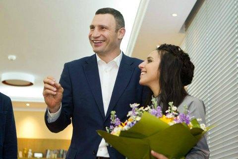 Кличко подарил Джамале квартиру в Киеве