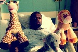 Рэпера 50 Cent госпитализировали