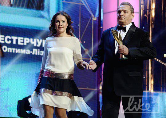Среди вручающих была и Наталья Королевская