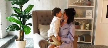 Певица Оля Цибульская впервые показала сына
