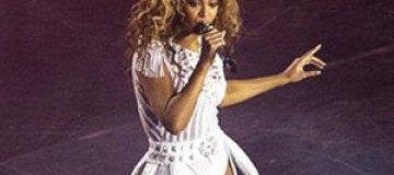 Бейонсе прервала концерт минутой молчания