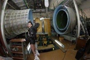 Руслана перекричала аэродинамическую трубу