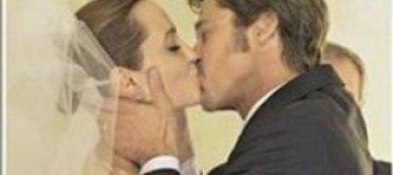 Первые свадебные фото Джоли и Питта