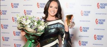 София Ротару получила награду из рук российской пропагандистки Захаровой