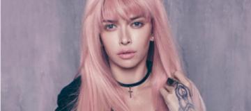 Вера Брежнева стала тинейджером с розовыми волосами