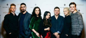 "Актеры сериала ""Школа"" сходили на Ukrainian Fashion Week"