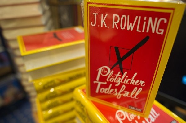 Новая книга Джоан Роулинг